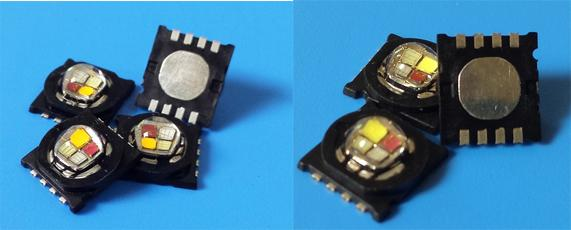 RGB-PCAmber Multi Color Led Diode 750mA 4 In 1 High Power 15 Watt