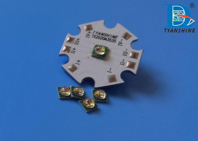 Ceramic SMD LED Diode 350mA 3535 RGBW Package LEDs 5W XP-E Size