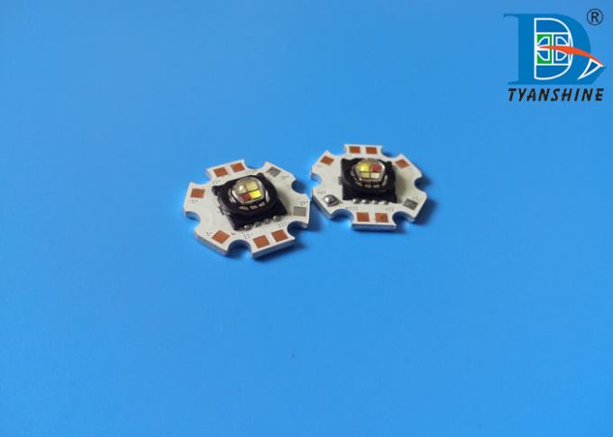 SMD High Power LED 15Watt Multi-color RGBW Package LEDs 750lm