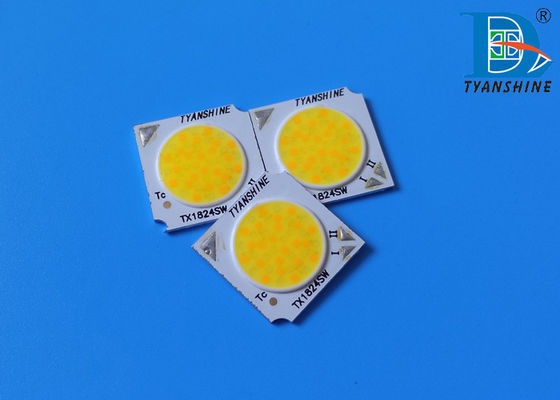 China Tuneable White COB LED Chip 2700K-6500K 24W Better than Tiger Zenigata LED COB supplier