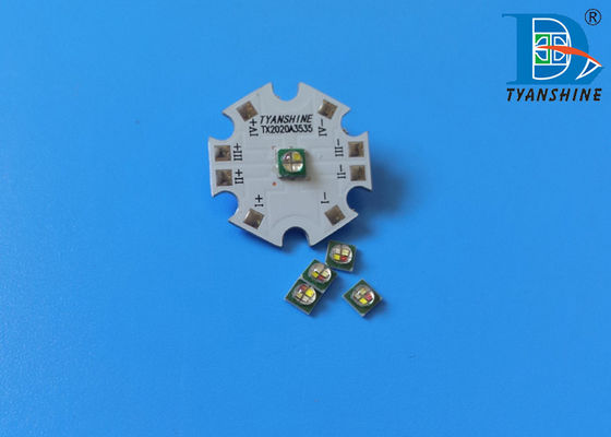 200lm SMD3535 LEDs Ceramic 3W RGBW Package 4in1 LED Component