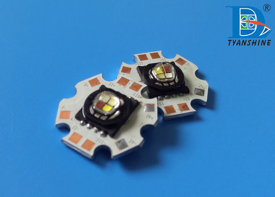 China SMD High Power LED 15Watt Multi-color RGBW Package LEDs 750lm supplier