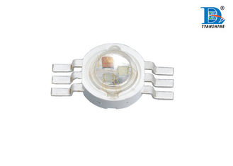 Super Bright Red 35 - 60lm 350mA RGB High Powered LED , 1W LED Diode