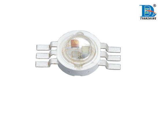3 * 1W High Power RGB LED Doide 350mA 100lm for Architectural Lighting