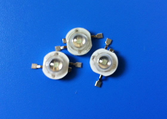 700mA High Power LED Diode Epiled Chips 3W Red 615 / 630nm
