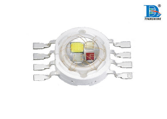 8W RGBW Muitichip LED Diode Epiled Chips with 140° Beam Angle