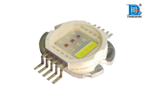 China Multi - color RGBWP RGB LED Diode Emitters For Stage Lighting , 30w High Power Led supplier