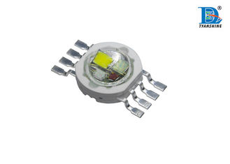 China Epistar Multi Chip LED RGBW / RGBA 4 - IN - 1 , Smooth Light Emitting Diodes supplier