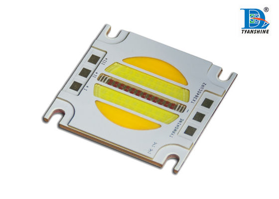China Three Color - mixing 97Ra High Power Led Chip 60W 120Watt , COB Led Array supplier