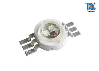 Super Bright 3W Multi Color LED Diode 350mA , High Power LED Chips