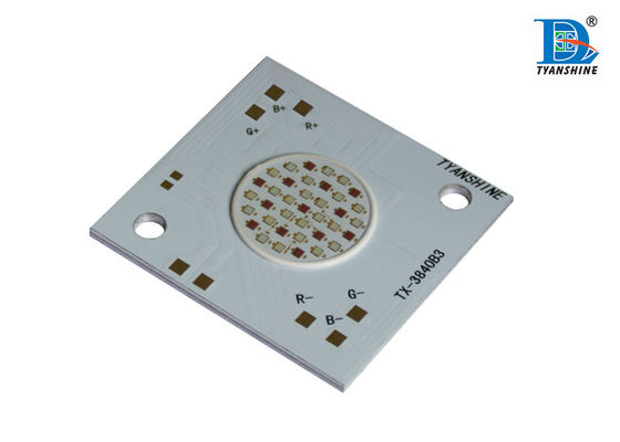 China Full Color 40W Epileds COB RGB LED Array For Architectural Flood Lighting supplier