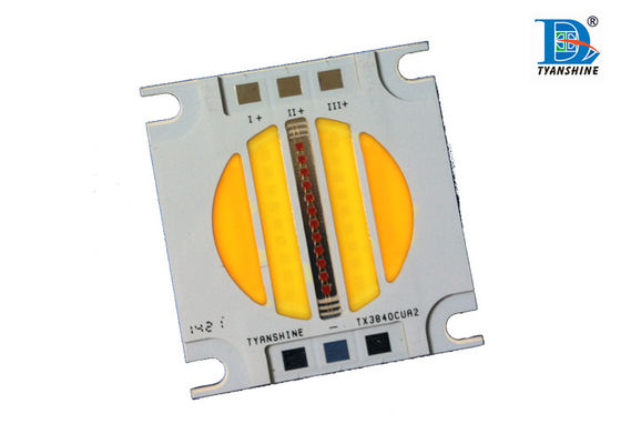 60W 120Watt High Power Led Chip with Three Channels Warm White / White / Yellow Red