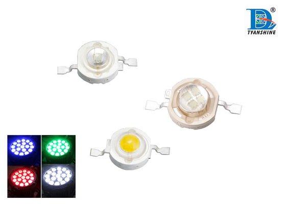 3W High Power LED Diode for Color Red Green Blue Amber White