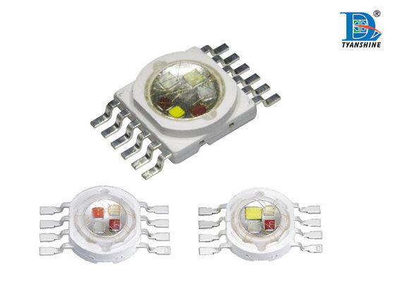 China 5in1 High Power LED Diode10W RGBWA UV Customized for Stage Effect Lighting supplier