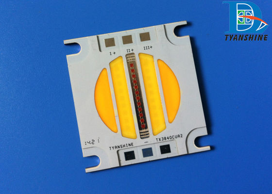 China 60W Fresnel LED Array Chip-on-Board CRI90 Three Channels for DMX Diming supplier