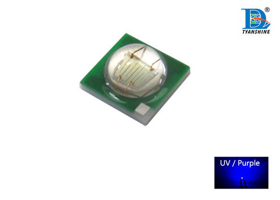 700mA 3W UV SMD LED Diodes 380nm - 400nm UV-A for Cosmetic Sterilization