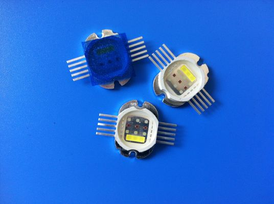 Integrated RGBW Multicolor Led Diode , High Power 30W 4IN1 RGB White LED Module