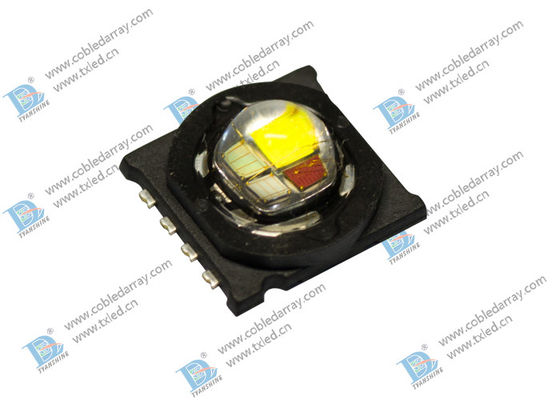 China 4in1 RGBW LED Arrays , 690lm - 800lm 15W RGB Power LED supplier