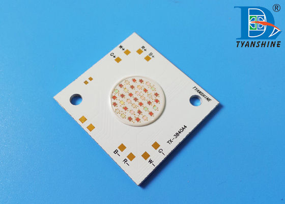 China Full-color RGB LED Array , 80W COB LED Package 4-in-1 LEDs supplier