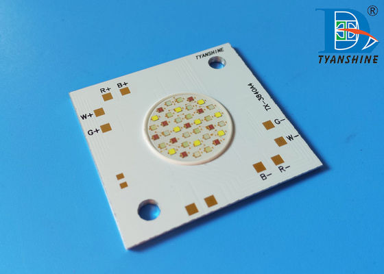 China Architectural Lighting RGB LED Array 80W COB Package Multi-color supplier