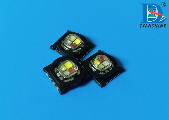 15W High Power RGB White LED Diode SMD Quad 4-in-1 Multicolor 810lm