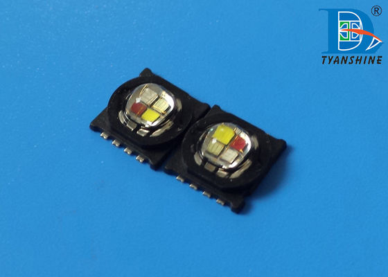 SMD 9090 4-in-1 RGBW Multi Color LED Diode , 15W High Power LED Chip