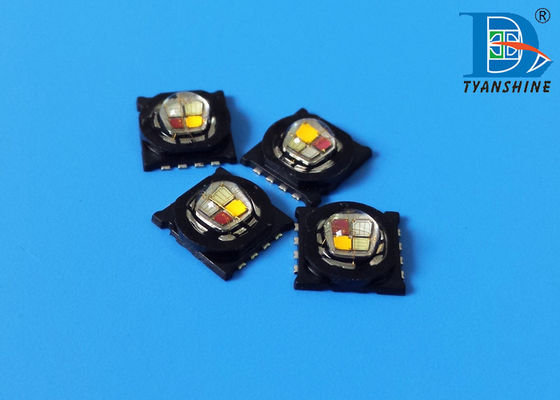 RGBA Color High Power LED Diode , Small 15Watt RGBW LED Arrays