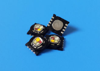 China RGB PCAmber 585nm LED Arrays , Multichip 15W LEDs Diode Emitter supplier